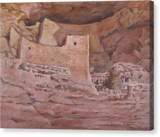 Montezumas Castle Canvas Print