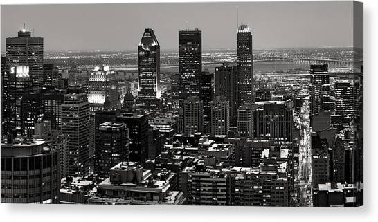 Quebec City Canvas Print - Montreal City by Pierre Leclerc Photography