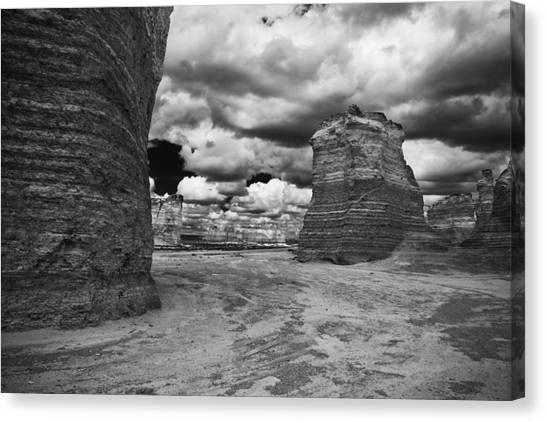 Monument Rock Canvas Print