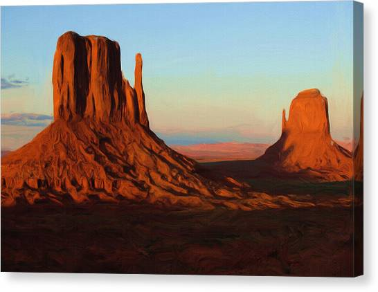 Monument Canvas Print - Monument Valley 2 by Inspirowl Design