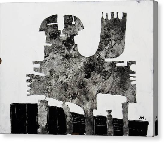 Acrylic On Canvas Print - Monumentum No 1 by Mark M  Mellon