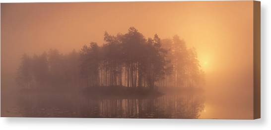 Moody Canvas Print by Andreas Christensen