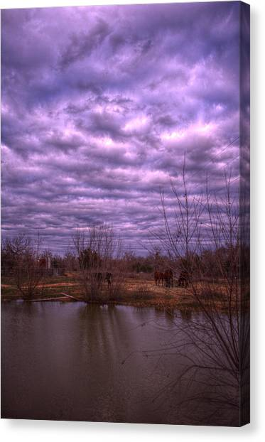 Moody Day Canvas Print by Kelly Kitchens