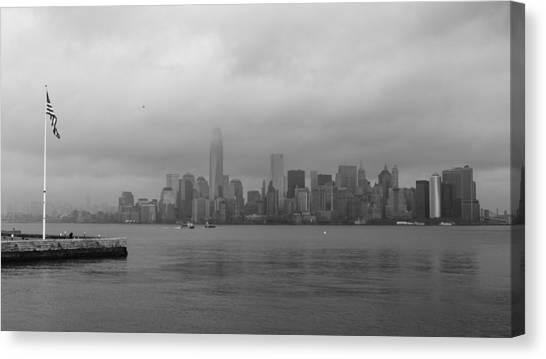 Moody Manhattan Canvas Print