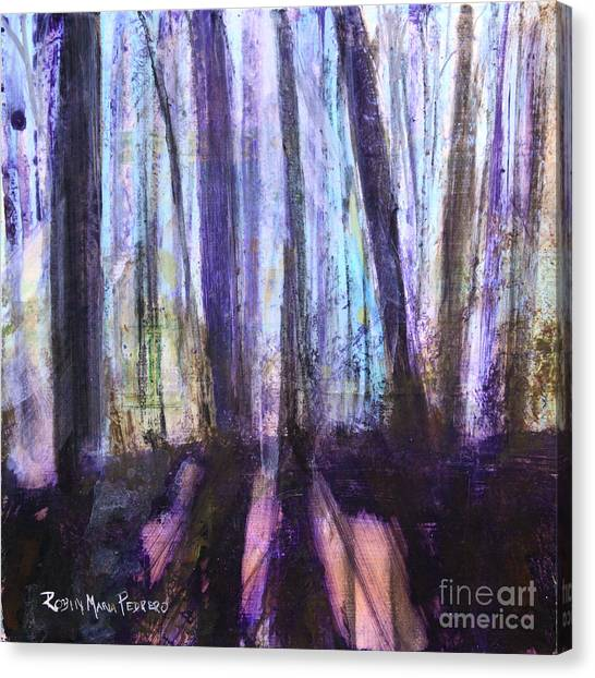 Moody Woods Canvas Print