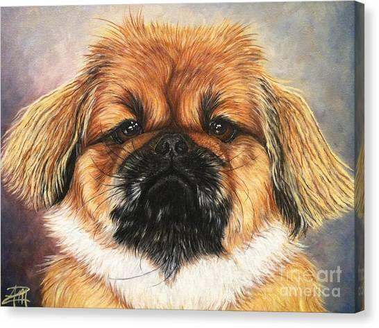 Mookie Canvas Print