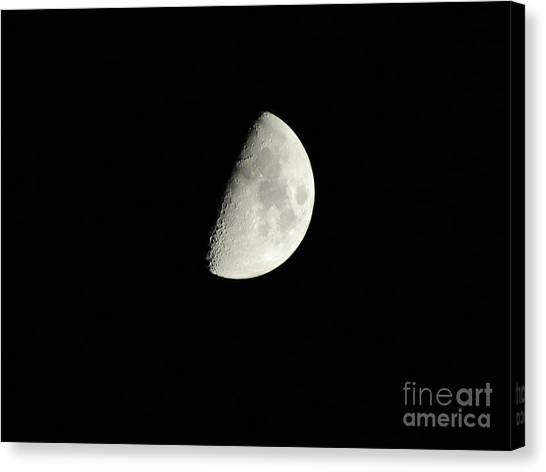 Moon 3 Canvas Print