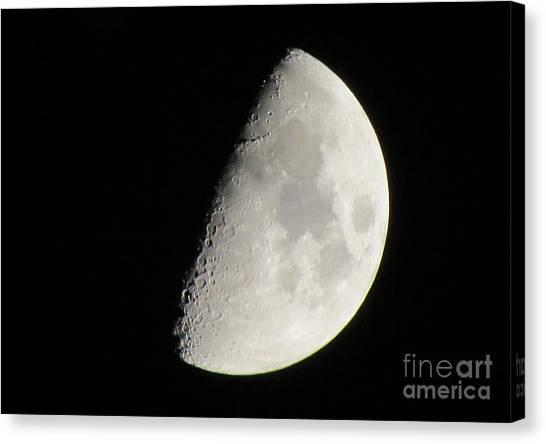 Moon 4 Canvas Print