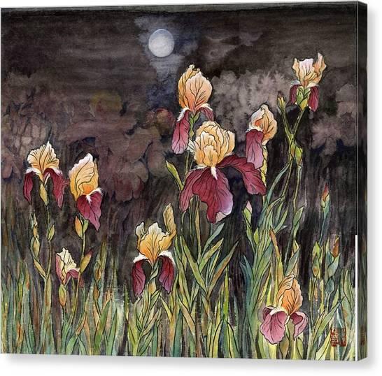 Moon Light At My Backyard Canvas Print