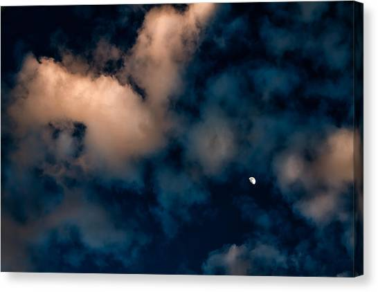 Moon Over Maui   Canvas Print