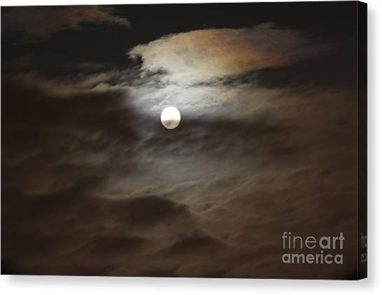 Moon Shine 2 Canvas Print