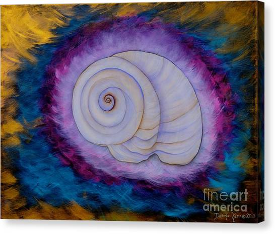 Moon Snail Canvas Print