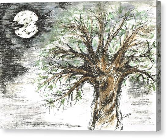 Moon Whisper  Canvas Print