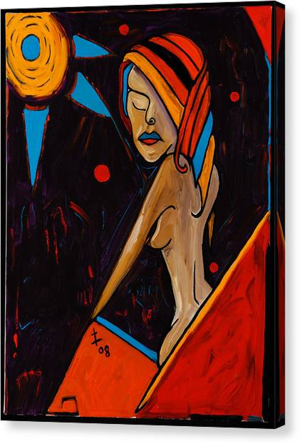 Moon Worship 40x30 Canvas Print