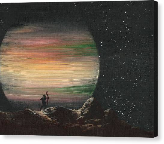 Moonhunter Canvas Print
