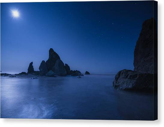Moonlight Blue Canvas Print