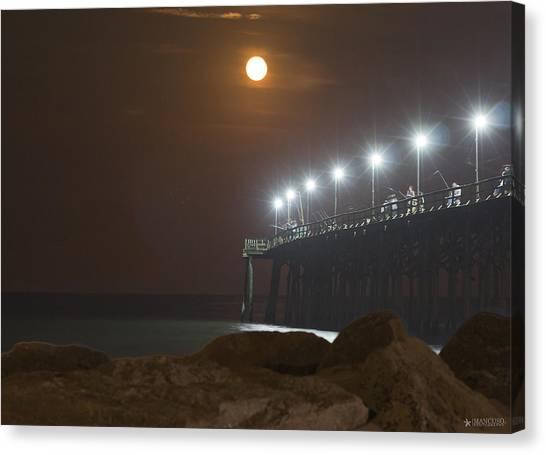 Moonlight Feels Right Canvas Print