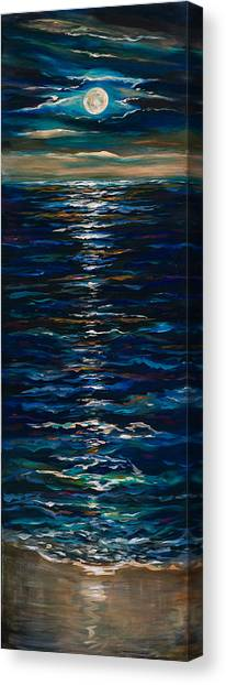 Moonlight Reflection Canvas Print