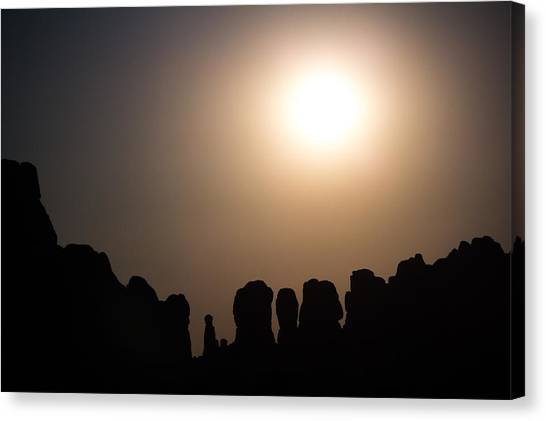 Moonrise Over Eden Canvas Print
