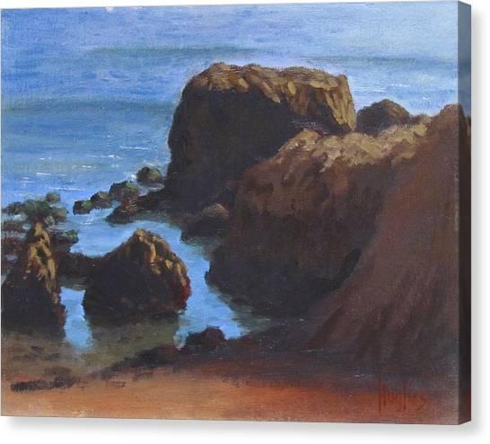 Moonstone Beach Canvas Print