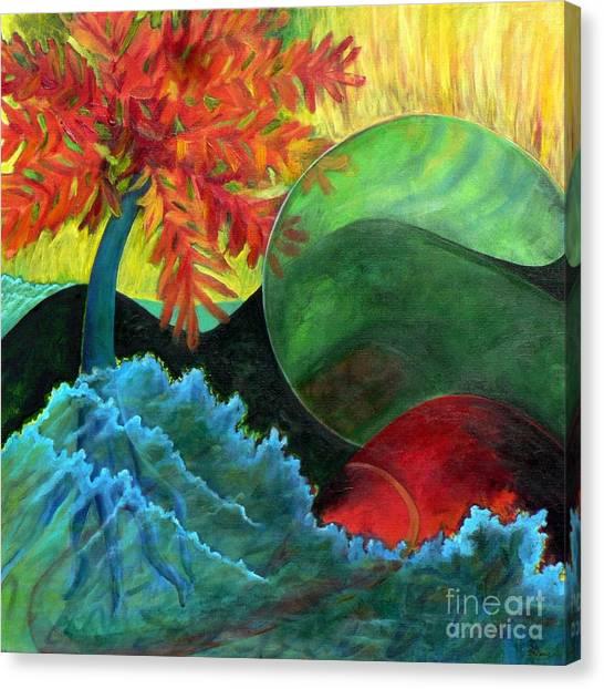Moonstorm Canvas Print