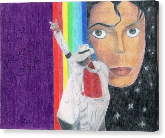 Moonwalker Canvas Print by Bav Patel