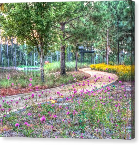 Moore Garden Stroll Canvas Print