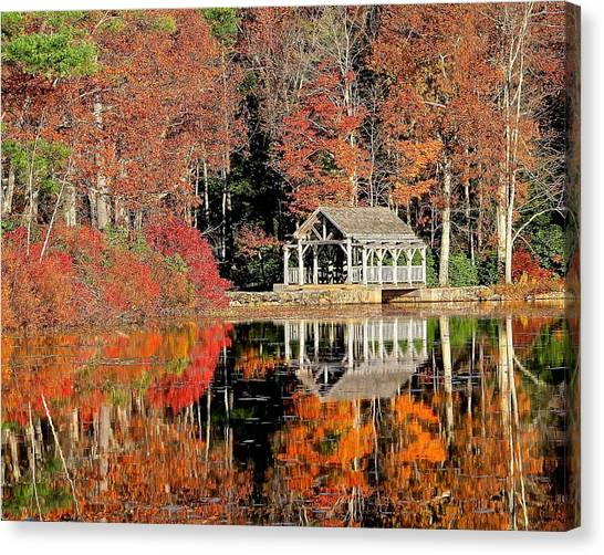 Moore State Park Autumn II Canvas Print