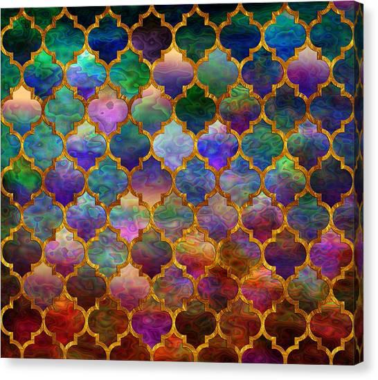 Moorish Mosaic Canvas Print