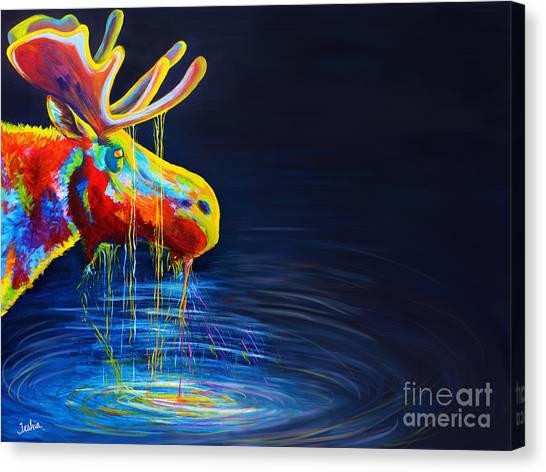 Moose Drool   Canvas Print
