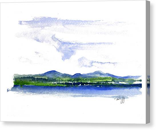 Moosehead Lake Canvas Print