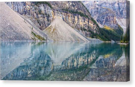 Moraine Lake Panorama B Canvas Print