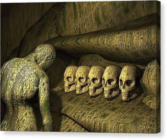 Morbid Vespers Canvas Print