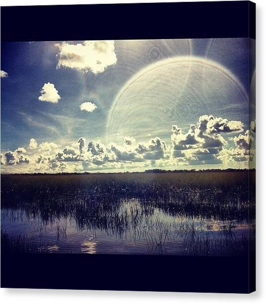 Everglades Canvas Print - More Clouds :d #swamp #florida by Shawn Who