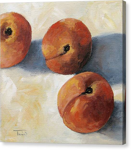 More Georgia Peaches Canvas Print