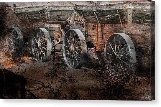 More Wagons East Canvas Print