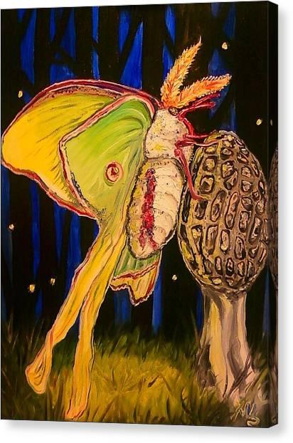 Morel And Luna Canvas Print