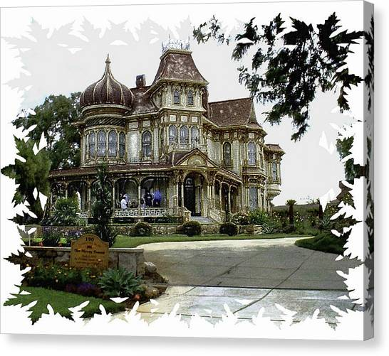 Morley Mansion Canvas Print