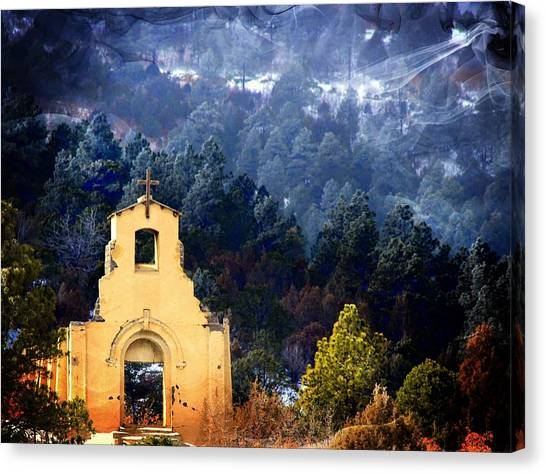 Morley Mission 1917 Colorado Canvas Print