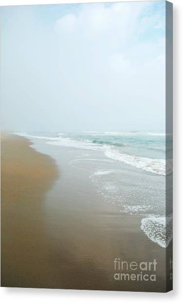 Morning At Sea Canvas Print by Sharon Kalstek-Coty