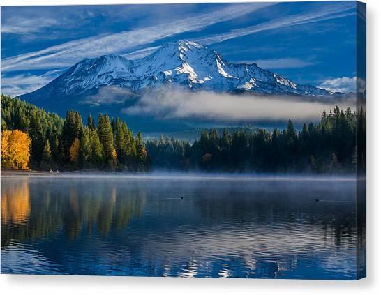 Morning At Siskiyou Lake Canvas Print