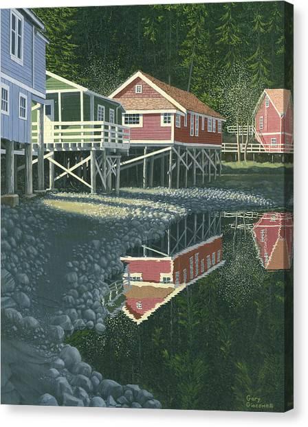 Morning At Telegraph Cove Canvas Print