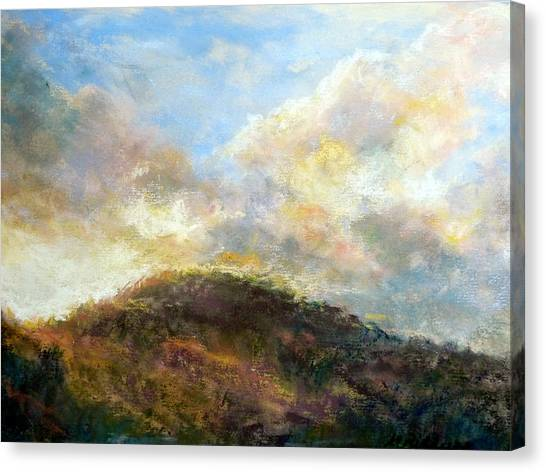 Morning At The Dune Canvas Print by Margaret Billups