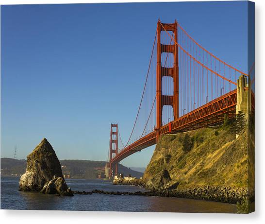 Morning At The Golden Gate Canvas Print