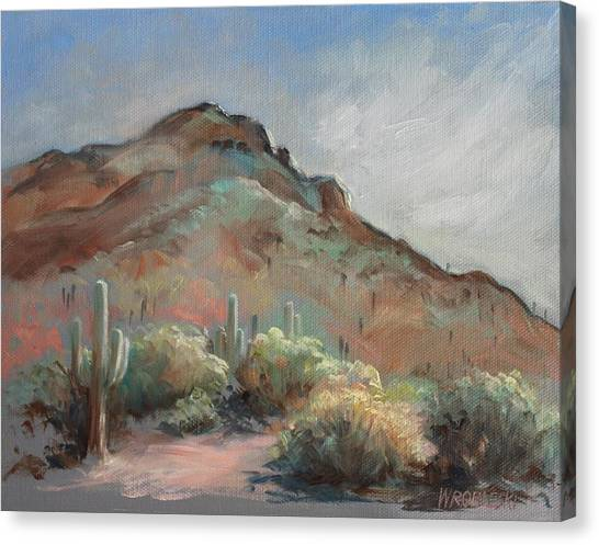Morning At Usery Mountain Park Canvas Print