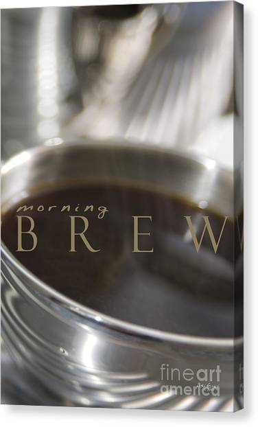 Morning Brew Canvas Print
