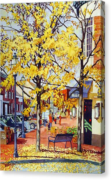 Morning Delivery Canvas Print