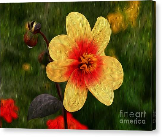 Morning Dew I Canvas Print