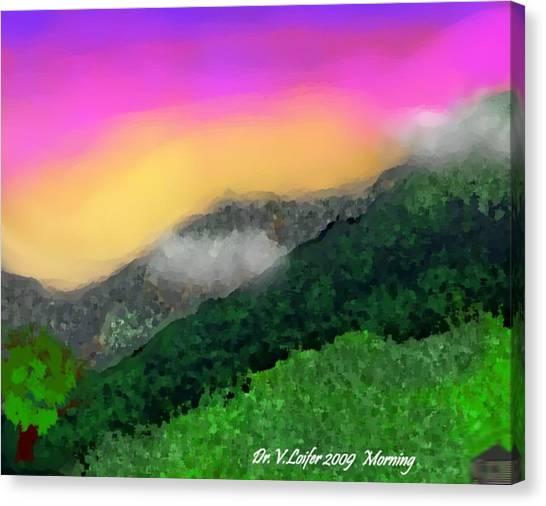 Morning Canvas Print by Dr Loifer Vladimir