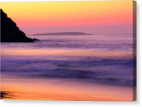 Morning Dream Singing Beach Canvas Print